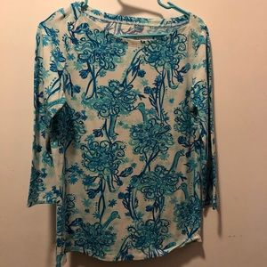 Lilly Pulitzer Back It Up top, size M